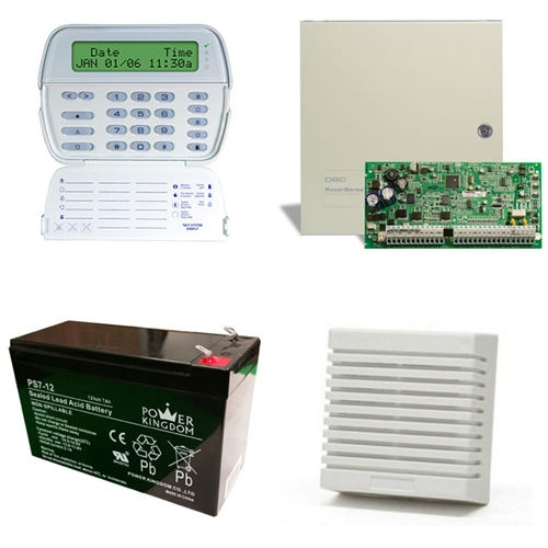 Dsc Power Series Alarm Kit 1832 Pk5500 Hardwired