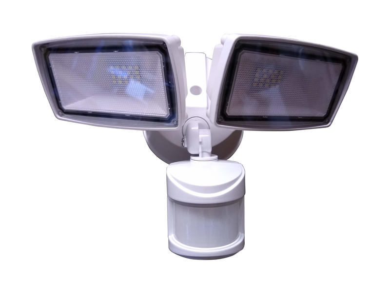 007 Systems Z Wave Outdoor Motion Flood Lights 007 Systems